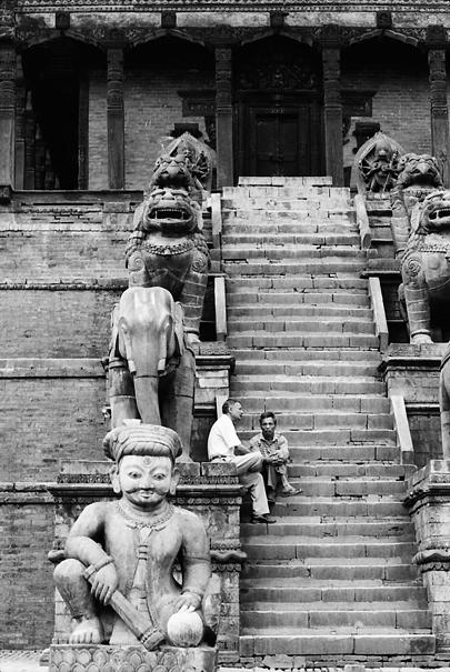 Stairway Of Nyatapola Temple (Nepal)
