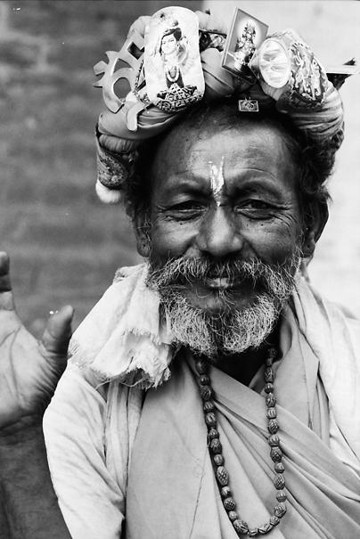 Sadhu Smiles (Nepal)