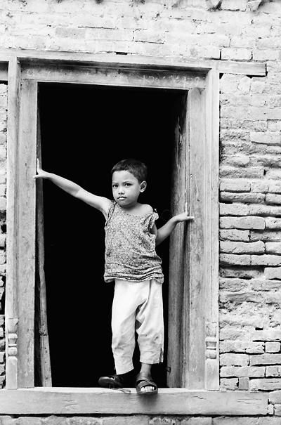 Boy With A Proud Face @ Nepal