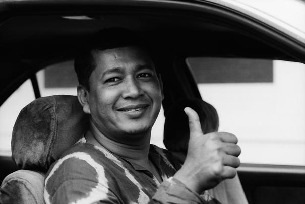 Taxi Driver's Thums-up (Bangladesh)
