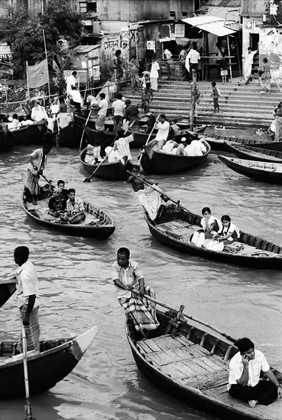 Ferryboats in Sadarghat
