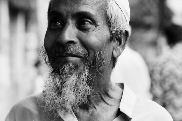 Bearded Man Looking Away (Bangladesh)