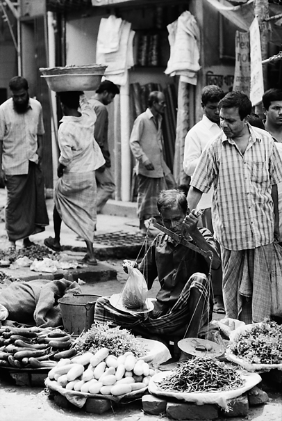Bazaar In The Street @ Bangladesh
