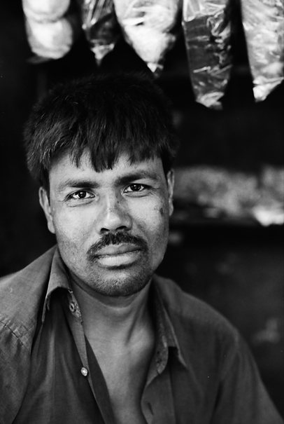 Man With A Vacant Look (Bangladesh)