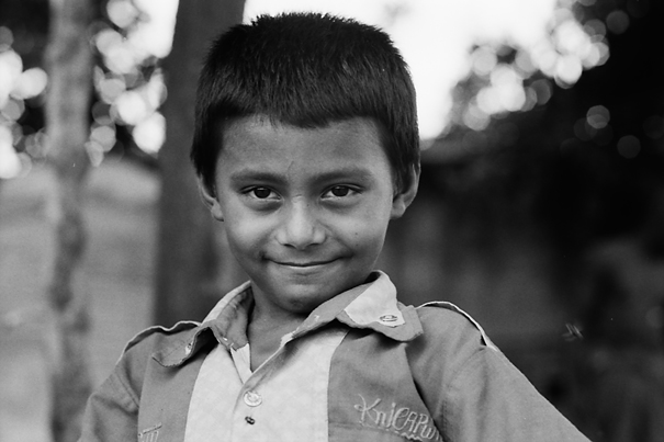 Bashful Boy With His Jaw Set (Bangladesh)