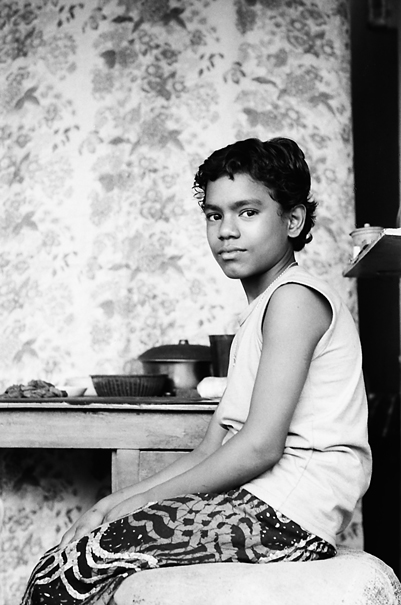 Sitting Boy @ Bangladesh