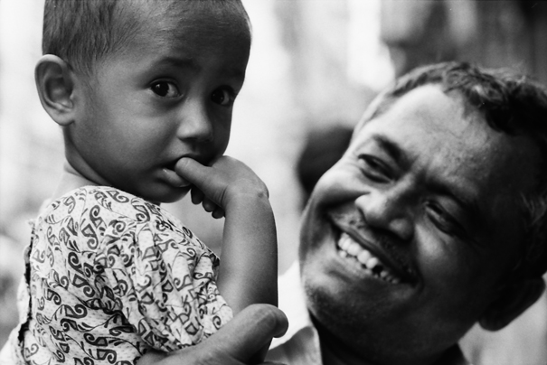 He Is Proud Of His Son @ Bangladesh