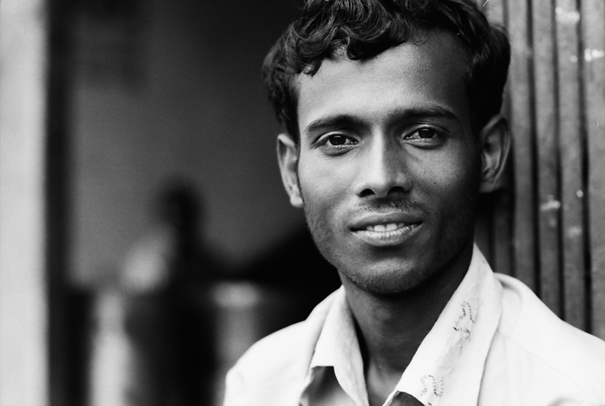 Man Casting A Serene Eye On Me (Bangladesh)