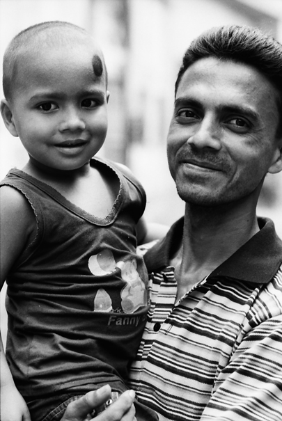 Portrait Of A Father And His Son @ Bangladesh