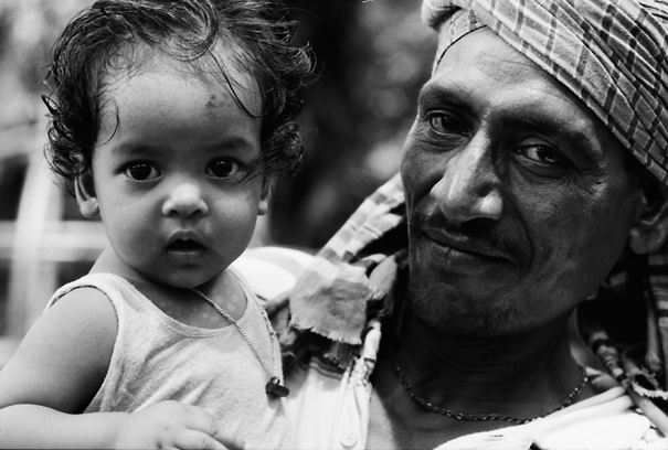 Baby And Man (Bangladesh)