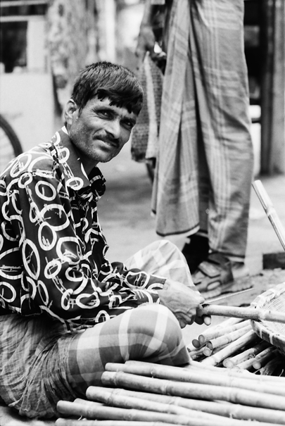 Man Worked On The Street @ Bangladesh