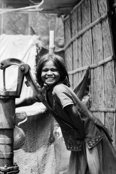 Girl And Well @ Bangladesh