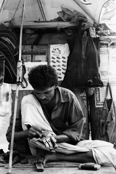 Shoe Repairman @ Bangladesh
