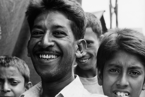 Smile Of A Middle-aged Man (Bangladesh)