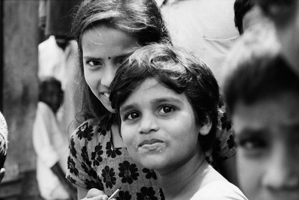 Two Precautious Girls (Bangladesh)