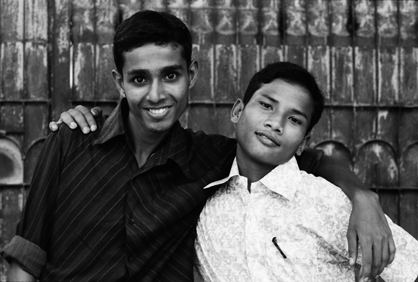 Boys Standing Close Together (Bangladesh)