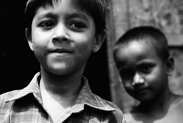 Boy Being Nervous About His Behind (Bangladesh)
