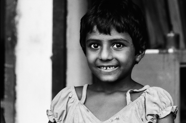 Bashfulness Of A Little Girl (Bangladesh)
