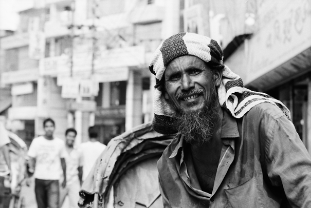 Rickshaw Driver With Shaggy Beard (Bangladesh)