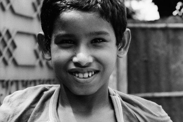 Curious Boy Smiled (Bangladesh)
