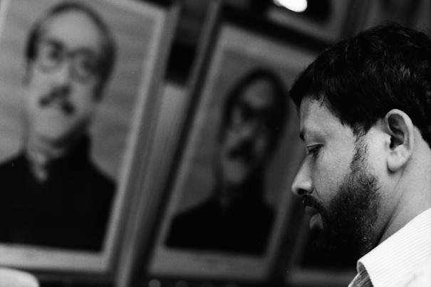 Portrait Of Rahman And A Man (Bangladesh)