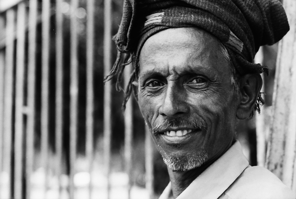 Man With The Lines At The Corners Of His Eyes (Bangladesh)