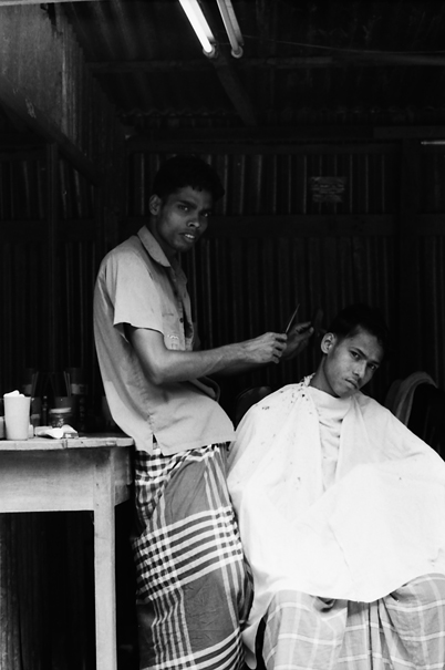 Two Men In The Barber (Bangladesh)