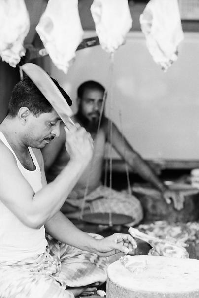 Man Brandishing Butcher Knife (Bangladesh)