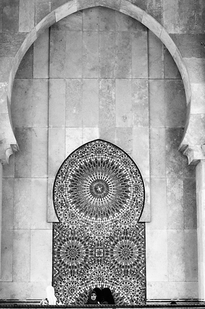 Arch in Hassan II Mosque