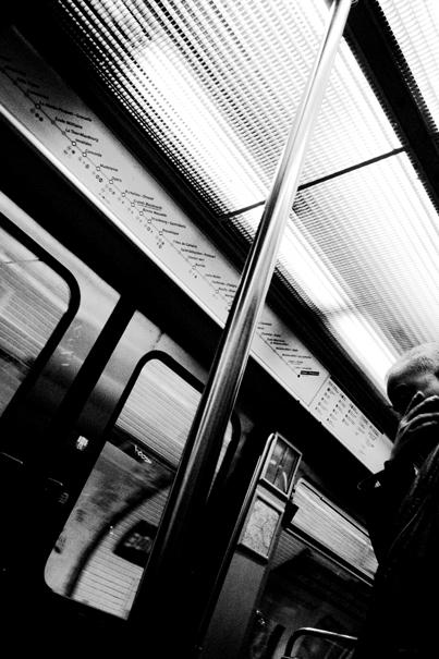 Man In Metro (France)