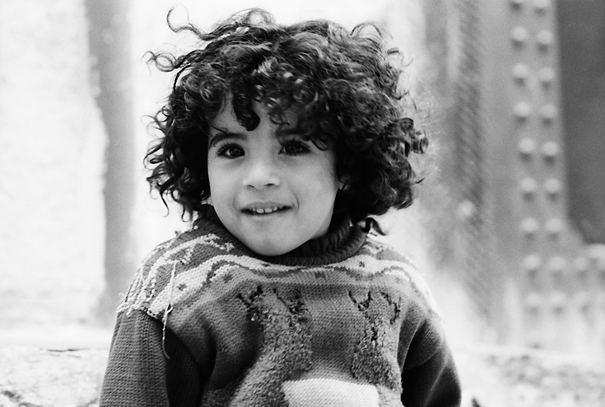Girl With Naturally Curly Hair @ Morocco
