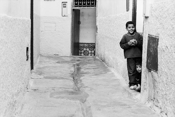 Watching Boys @ Morocco