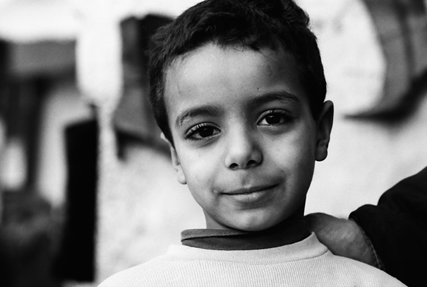 Boy With Long Eyelashes (Morocco)
