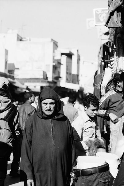 Man In The Street Market @ Morocco