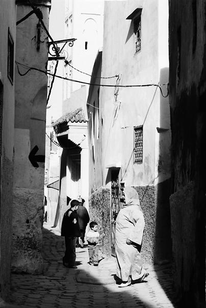 Lane in old quarter