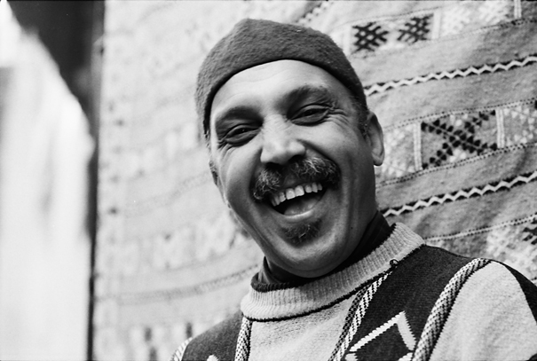 Man Wearing A Knit Cap Laughed (Morocco)