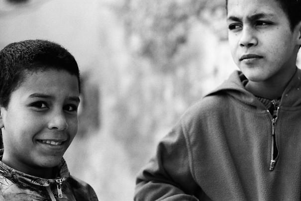 Two Boys @ Morocco