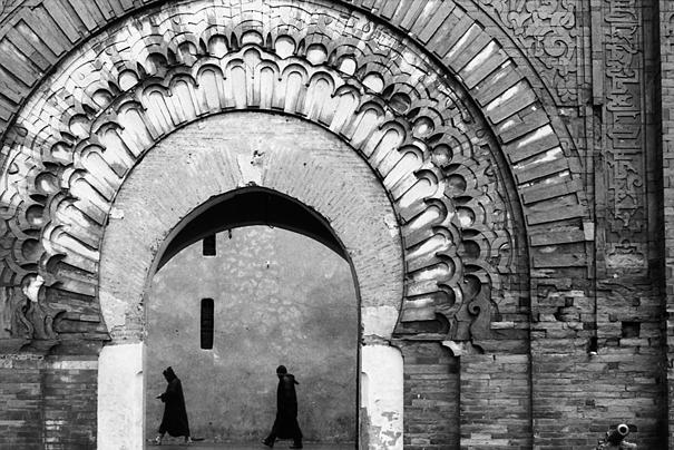 Bab agnaou in Marrakesh