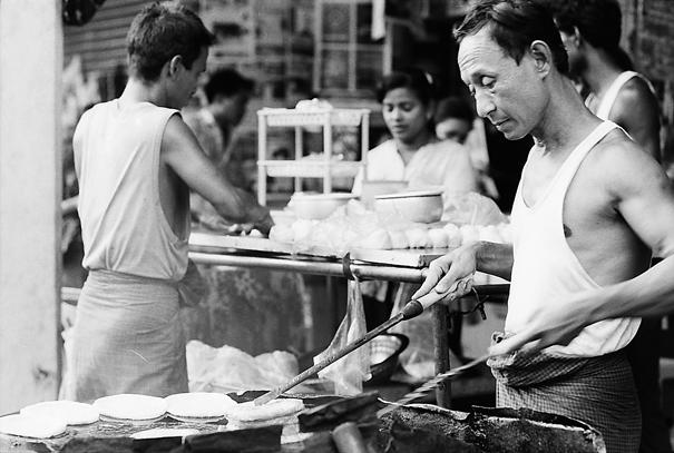 Man Frying (Myanmar)