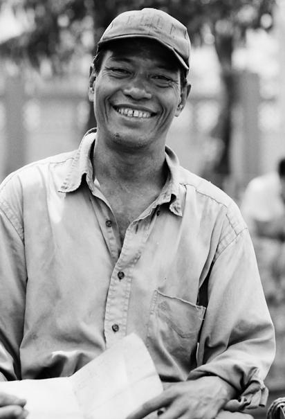 Saiq-ka driver smiling