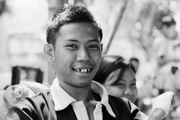 Young Man With Vampire Teeth (Myanmar)