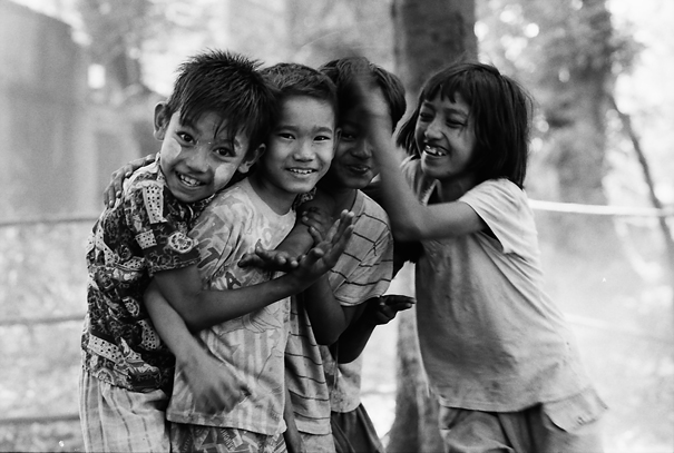 Jolly-looking Children (Myanmar)