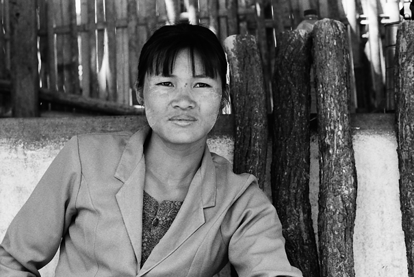 Portrait Of A Woman @ Myanmar