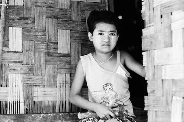 Girl @ Myanmar