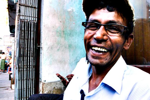 Man Laughing (Myanmar)
