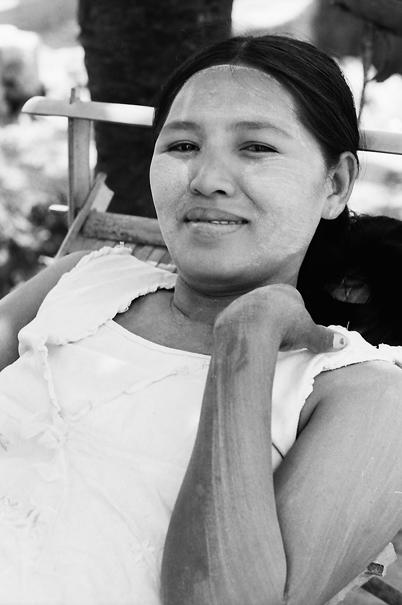 Moon-faced Woman Was Lying (Myanmar)