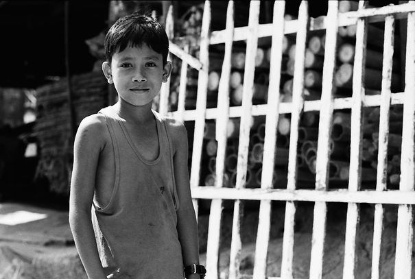 Tranquil Look Of A Boy @ Myanmar