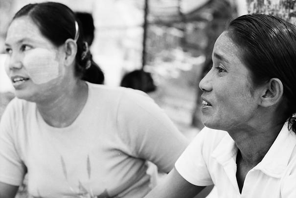 Two Women @ Myanmar
