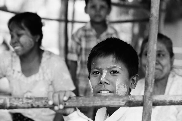 Eyes Of A Boy Under The Floor (Myanmar)