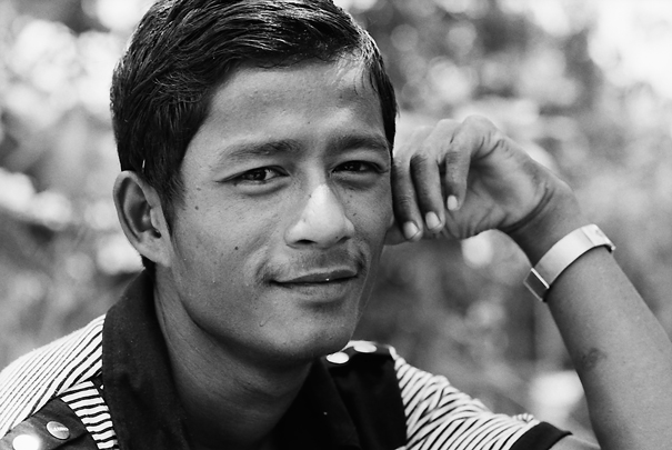 Tranquil Man @ Myanmar